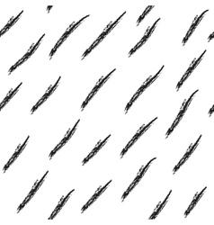 Hatch black seamless pattern vector