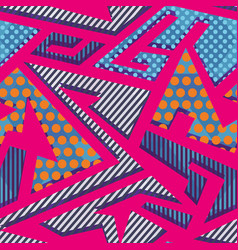 abstract cloth geometric pattern vector image