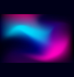 Abstract gradient background with neon vibrant vector