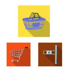 food and drink symbol set vector image