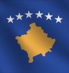 Kosovo flag vector