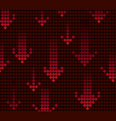 Red light arrow background vector