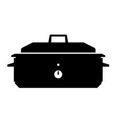 Roaster oven vector