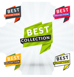 web shopping and retail banner colorful design vector image