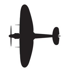 World war 2 fighter vector