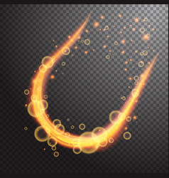 shining light effect design element vector image
