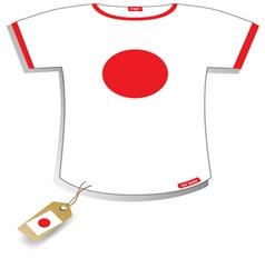 Japan T-shirt vector image vector image