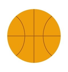 Orange basketball ball sport equipment competition vector