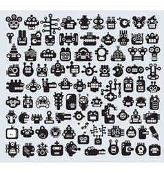 Robot characters vector