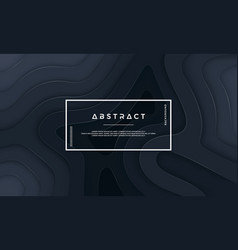 abstract black background design vector image