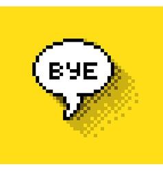 Bye bubble vector