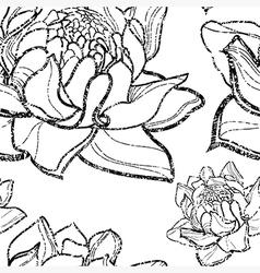 Flower seamless 12 grunge vector
