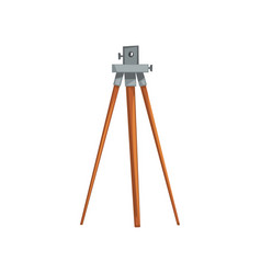 Geodetic leveling instrument geological or mining vector