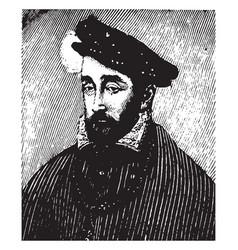 henri ii vintage vector image