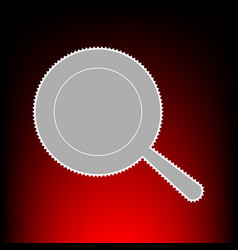 pan style on red vector image