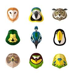 Wild Bird Set vector image