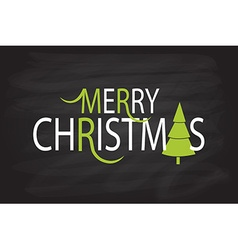 Flat Design Style Christmas Card vector image vector image