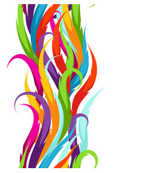 abstract colorful seamless pattern feather or vector image