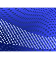 Blue spots vector
