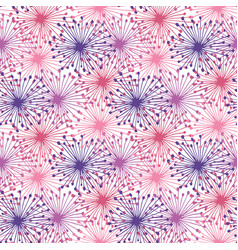 Bright seamless pattern in purple and pink colors vector