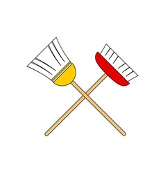 Broom-380x400 vector image