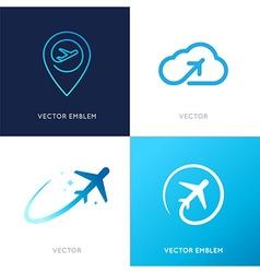 Logo design templates vector