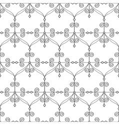 Oriental seamless pattern vector