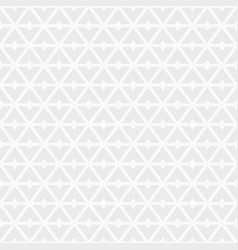seamless pattern of triangular geometric shapes vector image