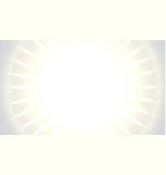 white empty background with glowing light rays vector image