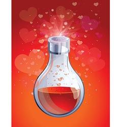 love elixir vector image vector image
