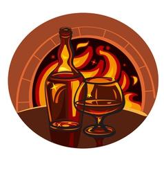 brandy vector image