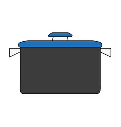 camping pot icon image vector image vector image