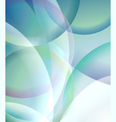 abstract design - bright transparent background vector image