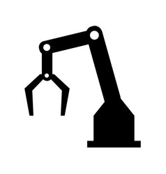 backhoes icon vector image