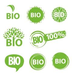 Bio logo vector