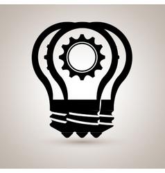 Bulb light icon design vector