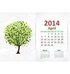 Calendar 2014 3 04 vector