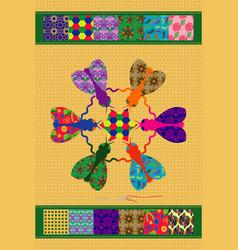 Flies of creativity vector