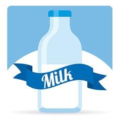 Fresh milk design vector