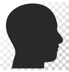 Head Profile Icon vector image