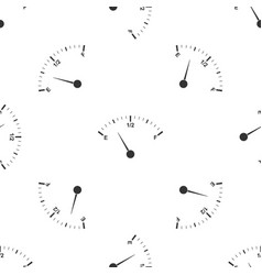 Motor gas gauge icon seamless pattern vector