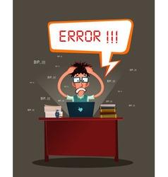 Stressed programmer vector