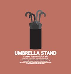 Umbrella Stand vector