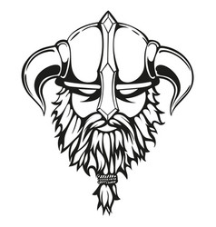 Viking graphic image vector