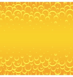 yellow circles background vector image