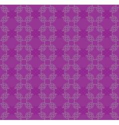 Purple flourish pattern vector image vector image