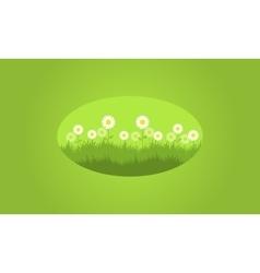 Background of flower spring vector