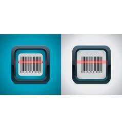Bar code scanner vector