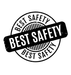 Best Safety rubber stamp vector