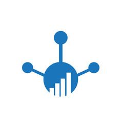circle finance logo modern eye catching logo with vector image